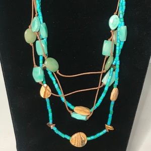 Kenneth Cole turquoise Necklace